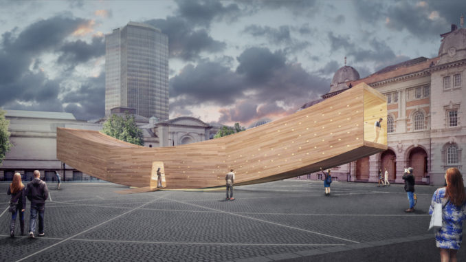 The Smile, American Hardwood Export Council (AHEC), London Design Festival