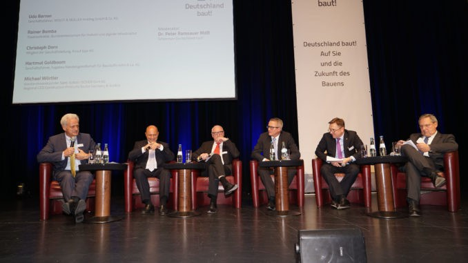 Podiumsdiskussion, Baubranche