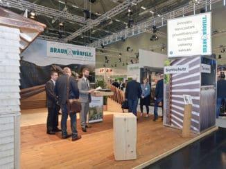Braun Messestand Branchentag Holz