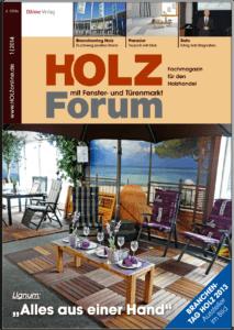 Holzforum Ausgabe 1/2014