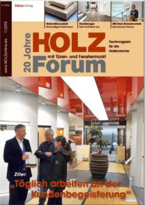 Holzforum Ausgabe 1/2015