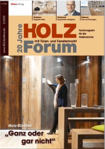 Holzforum Ausgabe 2/2015