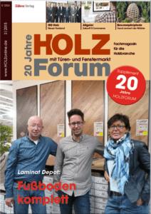 Holzforum Ausgabe 3/2015