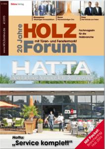 Holzforum Ausgabe 4/2015