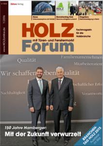 Holzforum Ausgabe 1/2016