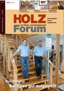 Holzforum Ausgabe 4/2016
