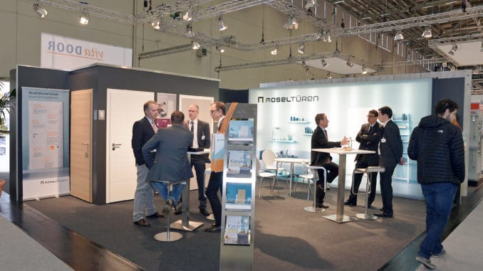 Mosel Messestand Branchentag Holz