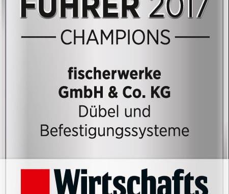 Fischer Logo Weltmarktfuehrer