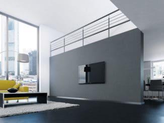 Döllken Weimar, Fußbodensockelleiste, Metall-Design