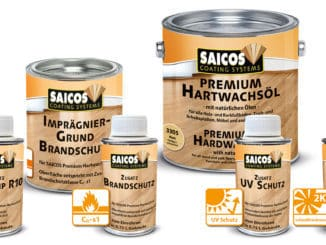 Saicos Colour GmbH, öl-basierte Fußbodenbeschichtung