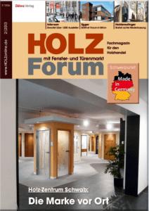 Holzforum Ausgabe 2/2013