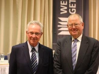 Westag & Getalit, Klaus Pampel (r.) Pedro Holzinger. Foto: Johannes Bitter