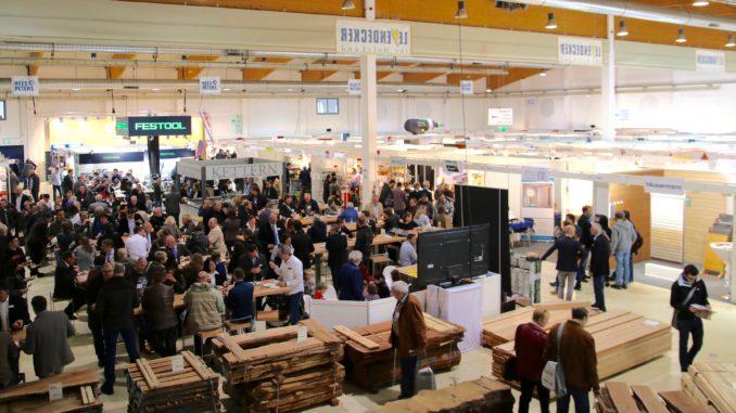 Zur diesjährigen Holztek kamen mehr als 2.600 Fachbesucher.