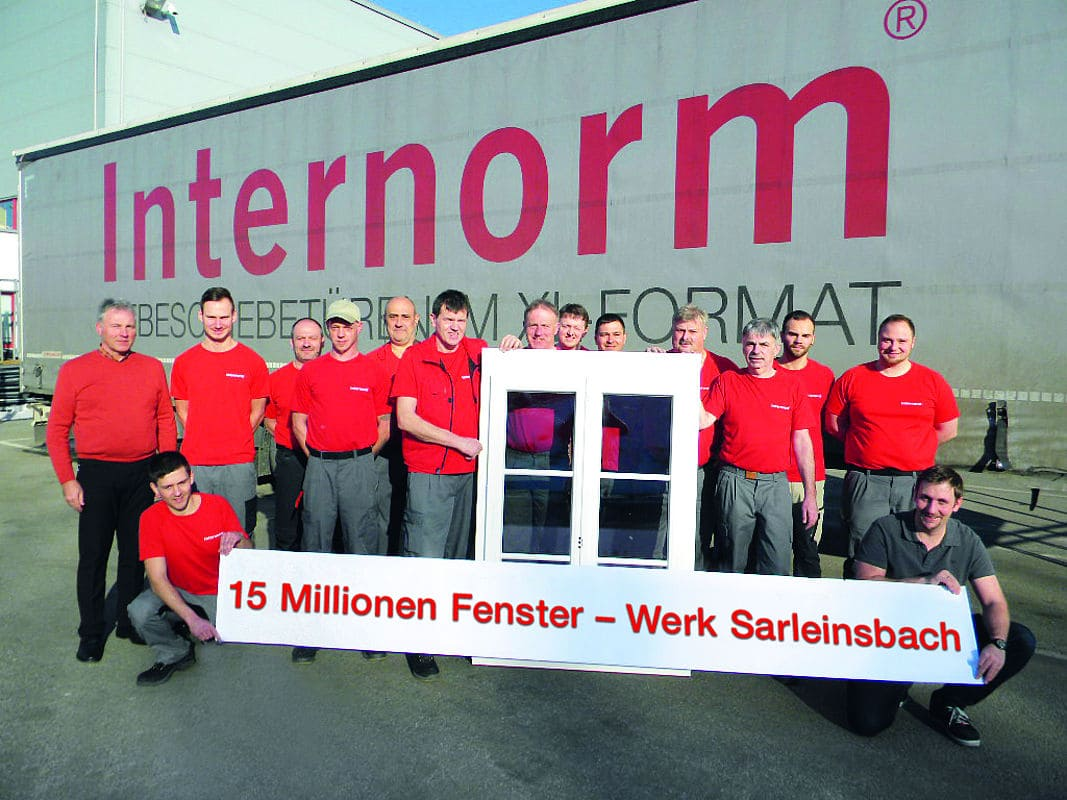 40 jahr jubil um internorm werk sarleinsbach - Internorm forum ...