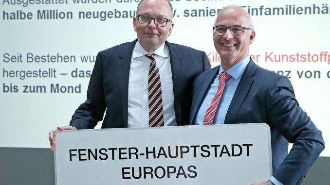 Die Vorstände der IFN-Holding AG: Mag. Johann Habring, MBA (l.) und Dr. Johann Pichler, MBA.
