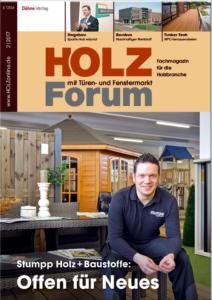 Holzforum Ausgabe 2/2017