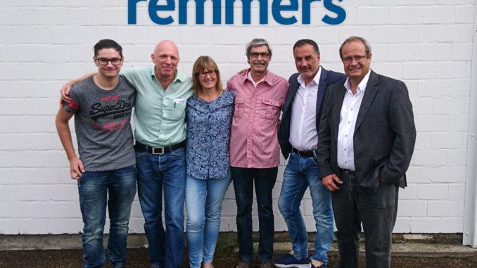 Das Team der Remmers AG in der Schweiz v.l.: Jeremy Cornuz, Frank Thiel, Andrea Willi, Helmut Weber, Münir Toprak und Dr. Daniel Römer.