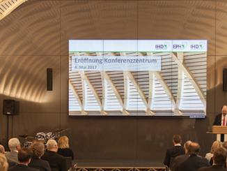 Das neue IHD Konferenzzentrum in Dresden.