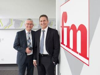 fm Büromöbel: Ulrich Meyer und Theo Budde, Geschäftsführende Gesellschafter.