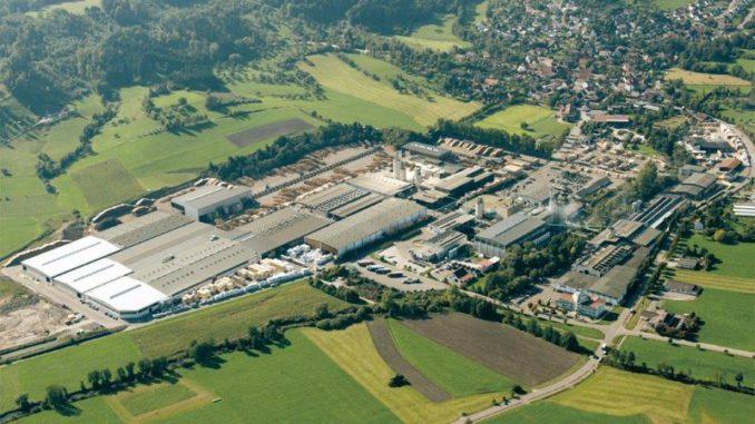 Hauptsitz der Klink Holz AG in Oberrot. [Quelle: Binderholz]