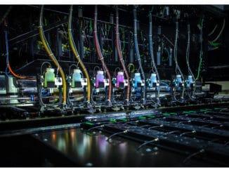 Im Digitaldruckverfahren können neue, kreative Designkonzepte verwirklicht werden.