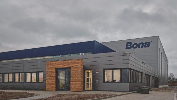 Das neue Bona Distributions-Center vor der Eröffnung.