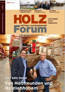 Holzforum Ausgabe 4/2017