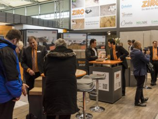 Ziro auf der Domotex 2018 in Hannover.