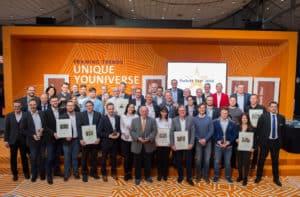 Die Preisträger des Parkett Star Award 2018