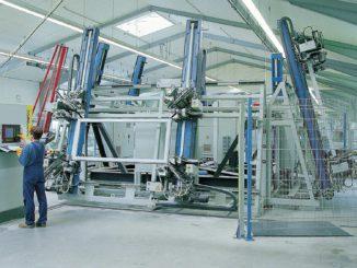 Fertigung der Baltic Fenster und Türen GmbH in Langenhorn.