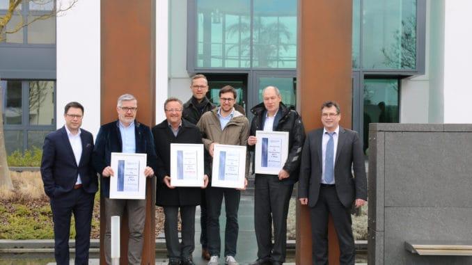 Neue Mitglieder konnte die Fachgruppe Galabau der Eurobaustoff begrüßen.