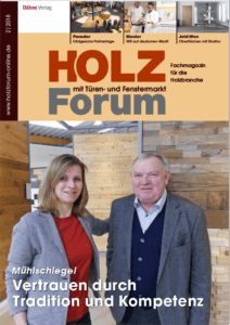 Holzforum Ausgabe 2/2018
