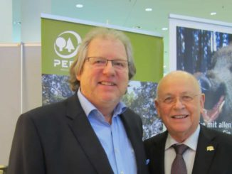BPH-Geschäftsführer Heinz Blumenstein (r.) und Bernd Bielen vom IBT Netzwerk für Nachhaltigkeit.