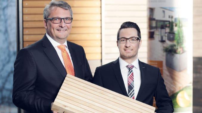 Eric Erdmann (r.) wird als weiterer Geschäftsführer ab Juni gemeinsam mit Ulrich Braig das Unternehmen Mocopinus leiten. Foto: Mocopinus.