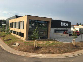 Neubau der Jordan-Niederlassung in Saarbrücken. Bild: Jordan.