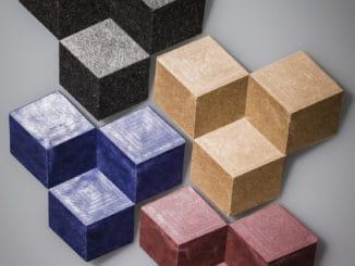 Mit acForm hergestellte 3D-umformbare Holzfaserplatten sollen neue Dimensionen für Holzfaserkomposite möglich machen. Bild: BASF.