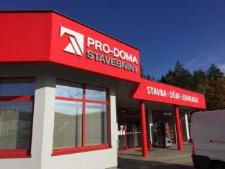 Der tschechische Baustoffhändler Pro-Doma - hier Bilder vom Standort in Mukarov - ist jetzt Mitglied der Eurobaustoff.
