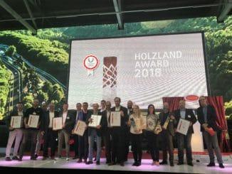 Die Sieger des Holzland-Awards 2018. Bild: holzforum-online