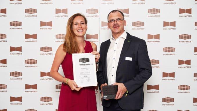 Produktmanagerin Larissa Kuntz und Geschäftsführer Gerd Michael Lersch.