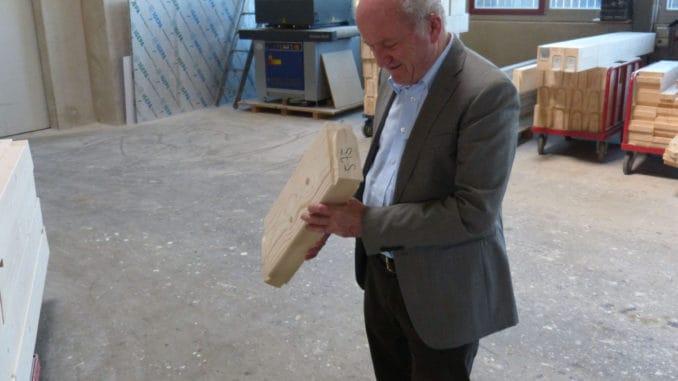 Franz Stommel, Senior-Geschäftsführer des Fertighaus-Unternehmens Stommel Haus, feiert ein doppeltes Jubiläum.