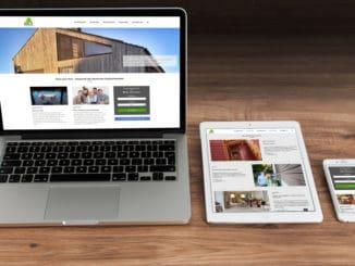 Verbraucherportal mit neuen Rubriken, optimierter Menüführung und großem Ausbildungsbereich auf www.holzvomfach.de. (Bild: GD Holz)