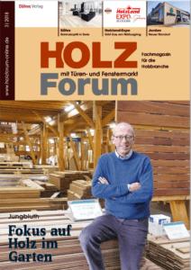 Holzforum Ausgabe 3/2018