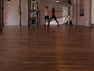 Disano Project by Haro bietet den Vorteil der weichen Oberfläche für Fitnessräume.