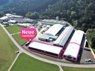 FN Neuhofer hat erneut die Lagerkapazitäten erweitert.