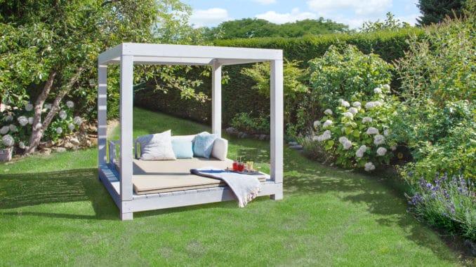 Ein Himmelbett für meinen Garten
