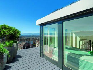 Die Terrassen aus Twinson von Inoutic verfügen nach Angaben des Unternehmens als einzige WPC-Terrassen über eine Zertifizierung als harte Bedachung.