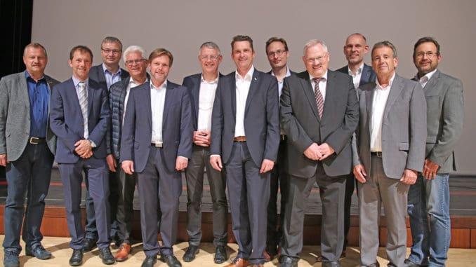 Der neu gewählte Vorstand des Instituts für Fenstertechnik.