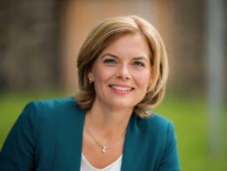 Kündigt Hilfe für Waldbesitzer an: Bundesministerin Julia Klöckner.