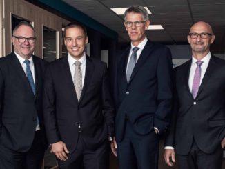 Neue Führung (v. l.): Detlev Schröder, Claudius Moor, Stefan Burlage und Michael Zapp.