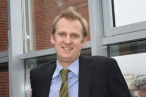 Gerritt Höppner-Tietz übernimmt operative Geschäftsführung der Hagebau-Logistik. [Bild: Hagebau]